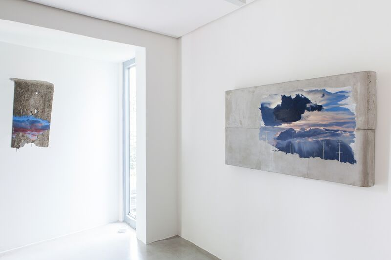 Matias Mesquita, 'Corpo Sólido [Solid Body]', 2014, Painting, Oil on cement slabs, Zipper Galeria