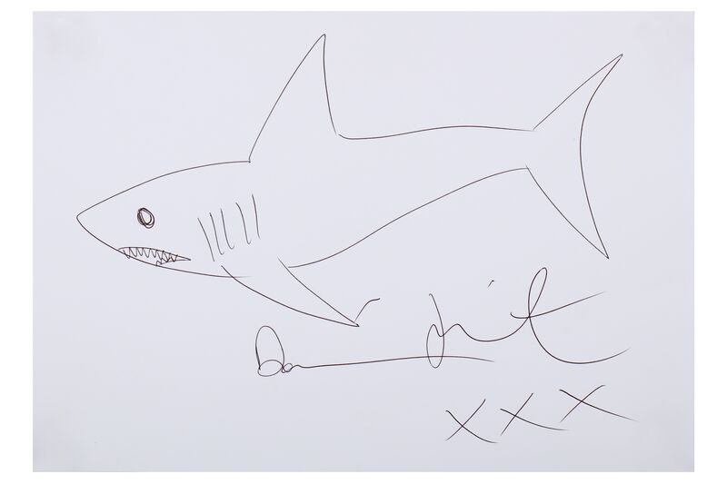 Damien Hirst, 'Shark drawing', Chiswick Auctions