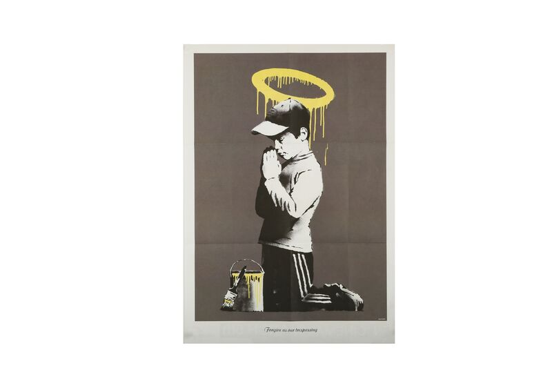 Banksy, 'Forgive Us Our Trespassing', Print, Offset lithograph, Chiswick Auctions