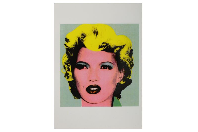 Banksy, 'Kate Moss (Crude Oils Exhibition Postcard)', 2005, Posters, Postcard, Chiswick Auctions