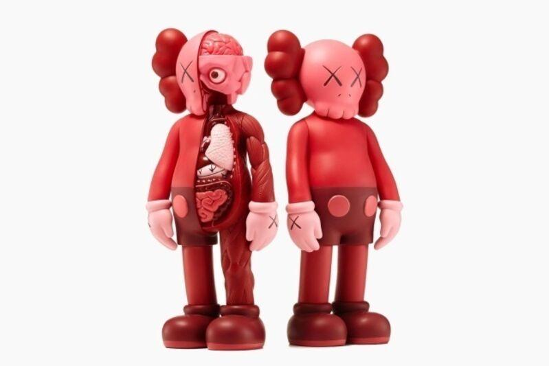 KAWS, 'Companion Set (Blush)', 2016, Sculpture, The set of two painted cast vinyl multiples, Forum Auctions
