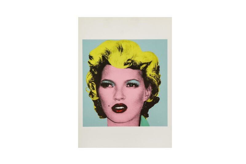 Banksy, 'Kate Moss', Posters, Postcard, Chiswick Auctions