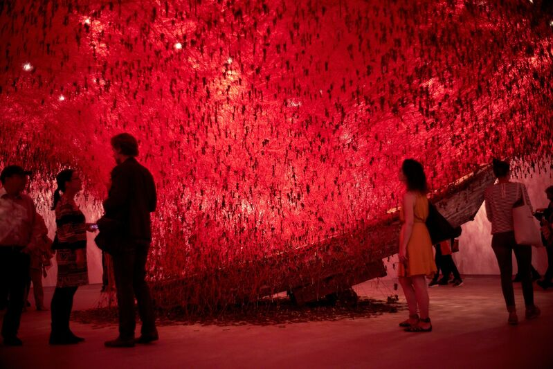 Chiharu Shiota, 'The Key in the Hand (Installation view)', 2015, Installation, 56th Venice Biennale