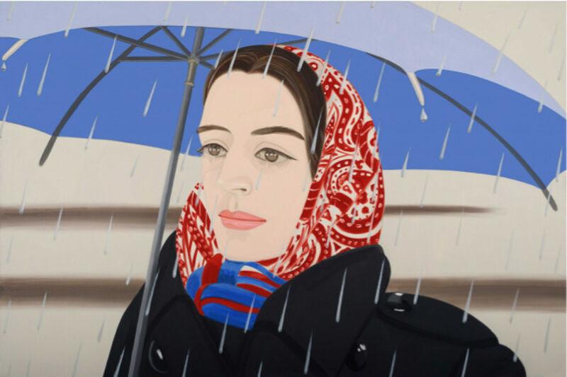 Alex Katz, 'Blue Umbrella 2', 2020, Print, Archival pigment inks on Crane Museo Max 365 gsm paper, David Benrimon Fine Art