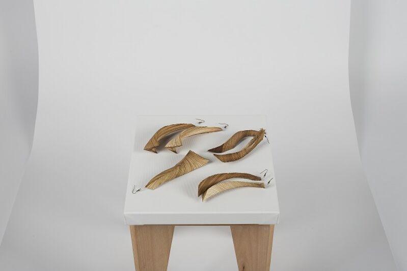Bahar Al Bahar, 'Venear', 2015, Fashion Design and Wearable Art, Laser-cut hand-assembled wood veneer, 1971 - Design Space