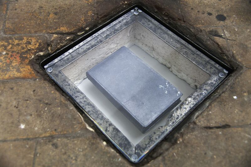 Petr Davydtchenko, 'All My Failings Exposed', 2013, Sculpture, Lead Cast first edition Mein Kampf, Harlan Levey Projects