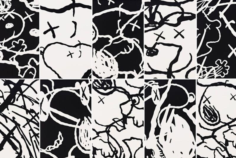 KAWS, 'MAN'S BEST FRIEND (FULL PORTFOLIO)', 2016, Print, Screenprints on Saunders Waterford 410gsm High White Paper, Marcel Katz Art