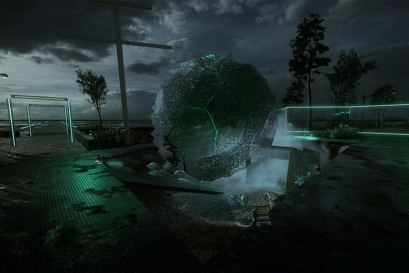 Jakob Kudsk Steensen, 'Aquaphobia', 2017, Other, Virtual Reality, The Current Museum
