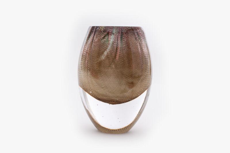 Omer Arbel, 'OA84.2', 2018, Design/Decorative Art, Glass and Copper Mesh, Carwan Gallery