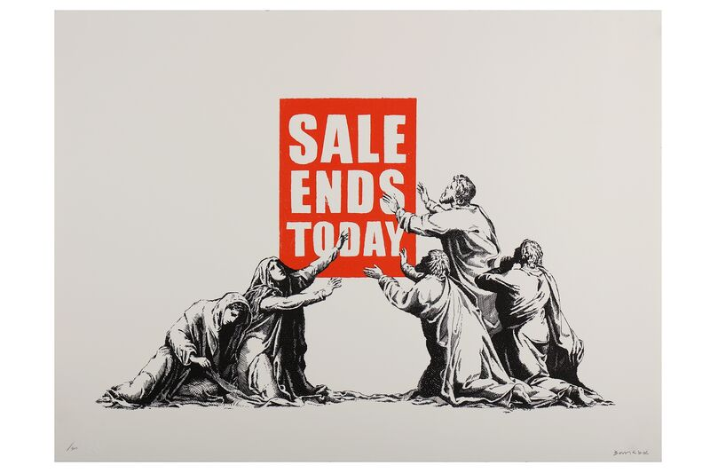 Banksy, 'Sale Ends', Print, Screenprint in colours, Chiswick Auctions