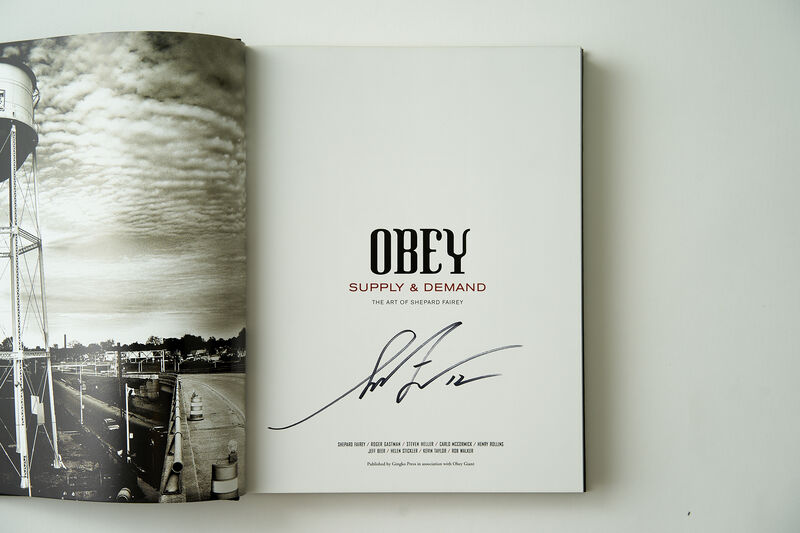 Shepard Fairey, 'OBEY Supply & Demand: The Art of Shepard Fairey', 2009, Books and Portfolios, Book, CAC Cincinnati Benefit Auction