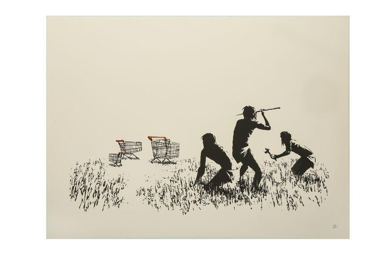 Banksy, 'Trolleys', 2007, Print, Screenprint, Chiswick Auctions