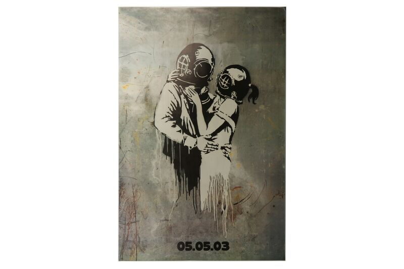 Banksy, 'Original large Bus Shelter', Posters, Promotional art poster, Chiswick Auctions