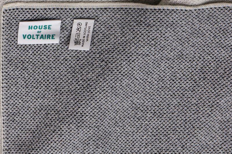 KAWS, '100% Cashmere Blanket (Blue)', 2019, Design/Decorative Art, Cashmere, Chiswick Auctions