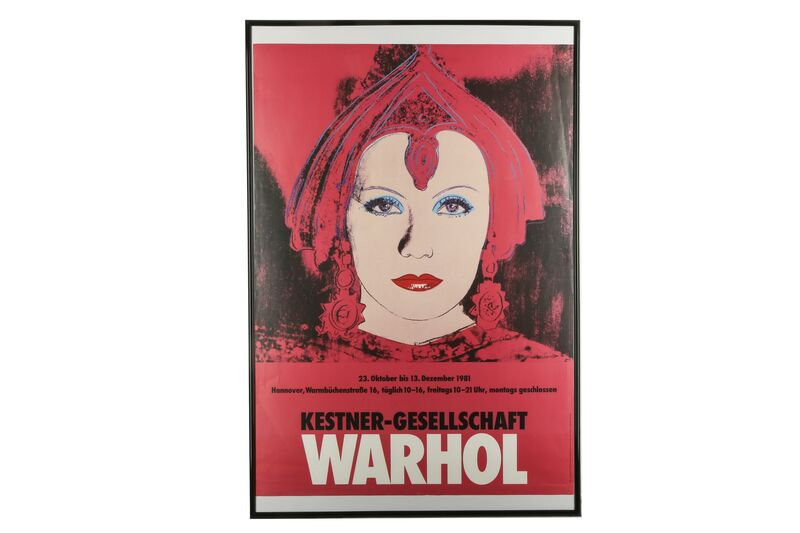 Andy Warhol, 'Greta Garbo', 1981, Print, Offset lithograph poster, Chiswick Auctions