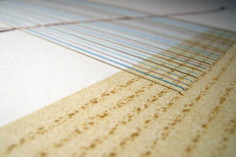 Blaise Drummond, 'Music School', 2014, Print, Intaglio with hand-stitching, Stoney Road Press