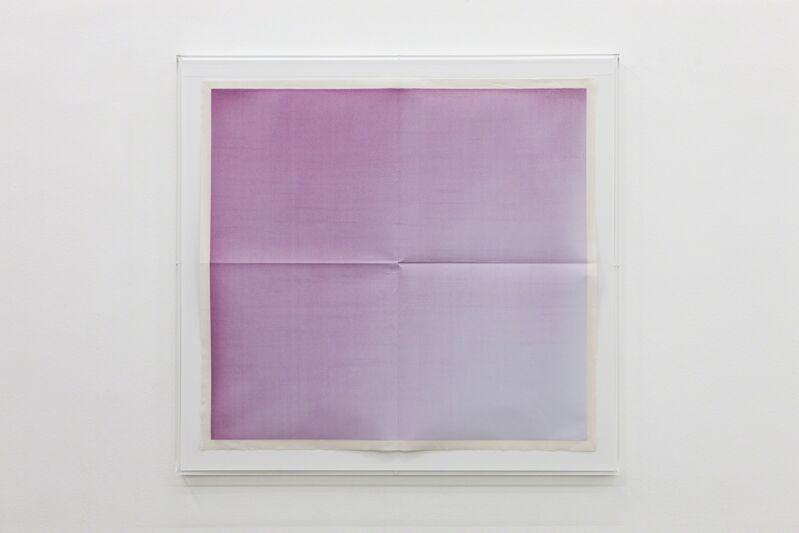 Mandla Reuter, 'Untitled', 2013, Painting, Diazotype mounted on canvas, Francesca Minini