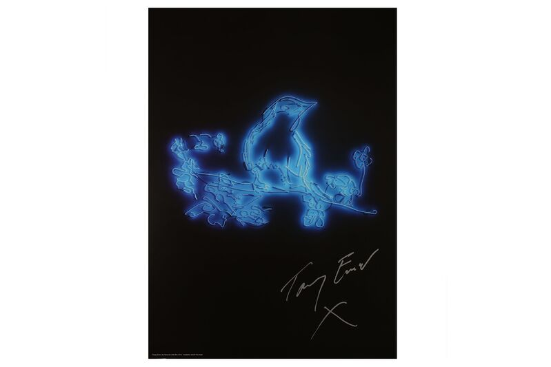 Tracey Emin, 'My Favourite Little Bird', 2015, Posters, Poster on 250 gsm silk finish paper, Chiswick Auctions