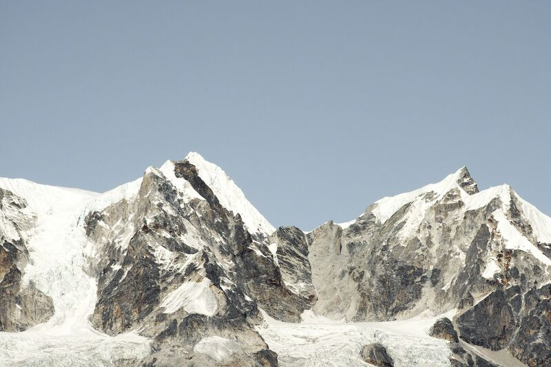 Renate Aller, '#15 s / Nepal, Himalayas, Everest Region', 2016, Photography, Archival pigment print, Adamson Gallery
