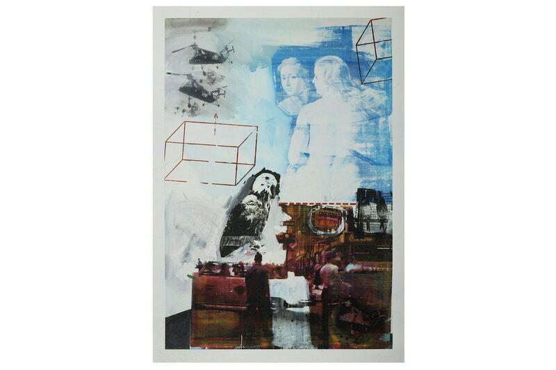 Robert Rauschenberg, 'Retroactive I, Skyway & Tracer', Print, Set of 3 silkscreens, Chiswick Auctions