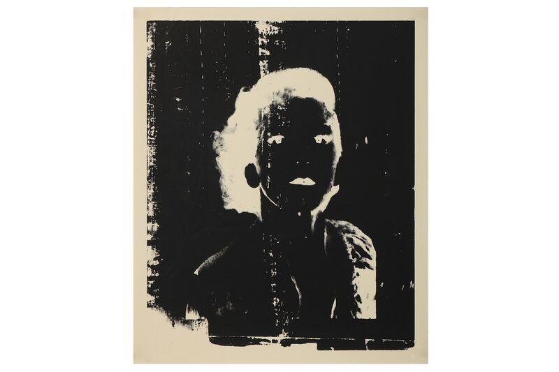 Andy Warhol, 'Ladies and Gentlemen Negative', Print, 3 screenprints, Chiswick Auctions