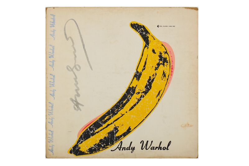 Andy Warhol, 'Velvet Underground LP', Other, Record, sleeve and cover, Chiswick Auctions