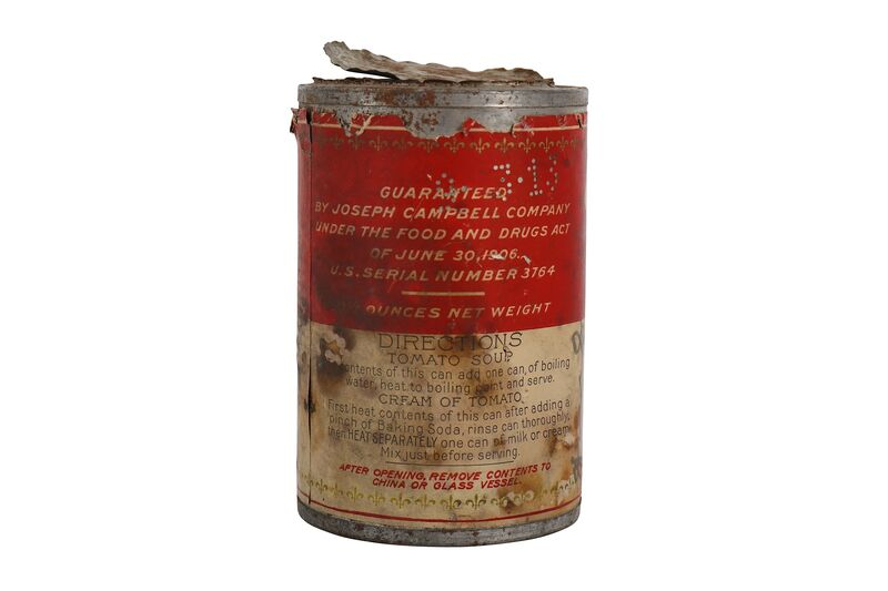 Andy Warhol, 'Tomato Soup Can', Sculpture, Campbell soup can, Chiswick Auctions