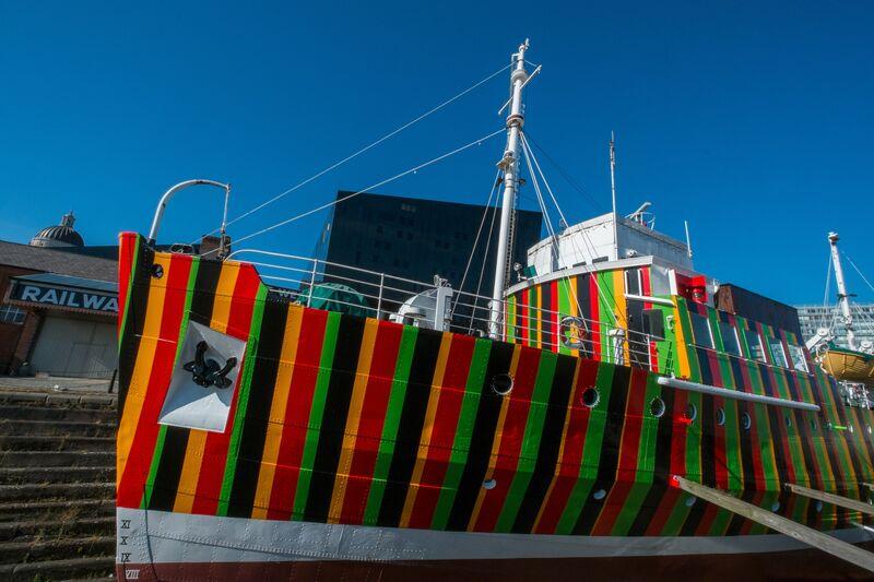Carlos Cruz-Diez, 'Dazzle Ship', 2014, Installation, Liverpool Biennial