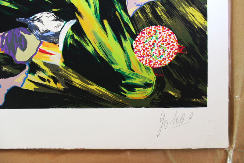 Tadanori Yokoo, 'Precognition I', 1989, Print, Screenprint, EHC Fine Art