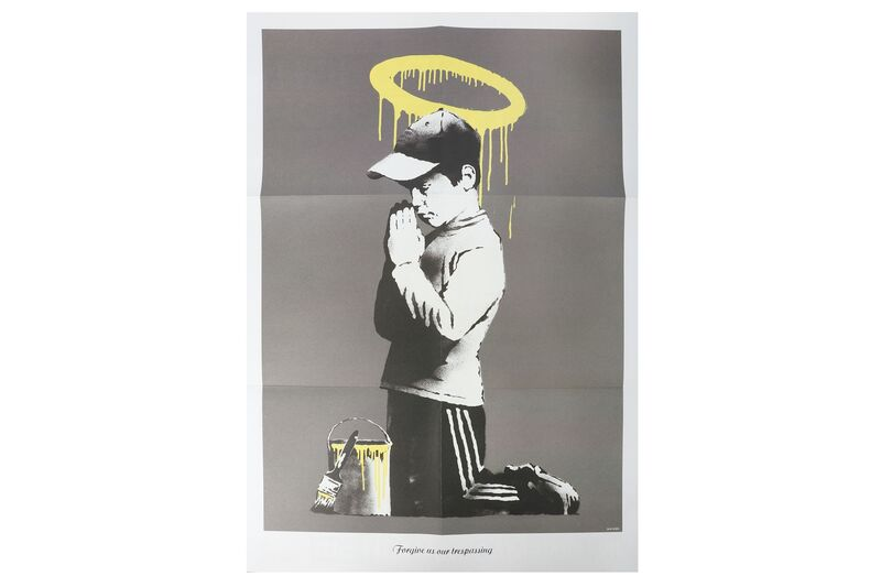 Banksy, 'Forgive Us Our Trespassing', 2010, Print, Offset lithograph on paper, Chiswick Auctions