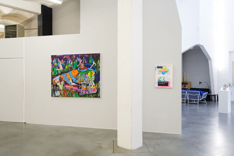 Huey Crowley, 'The Pumpkinhouse', 2012, Painting, Acrylic on canvas, Tatjana Pieters