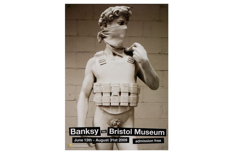 Banksy, 'Banksy vs. Bristol Museum (Set of 4)', 2009, Posters, Set of 4 posters, Chiswick Auctions