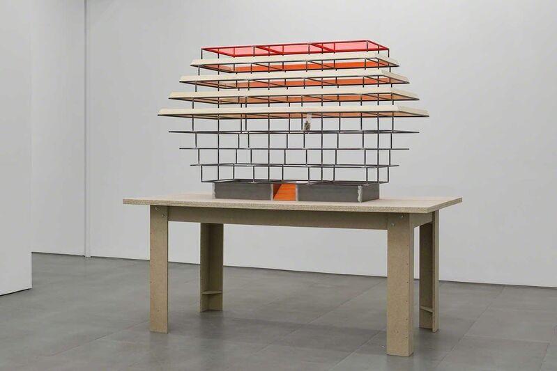 Thomas Schütte, 'Modell Sarg', 2017, Sculpture, Steel, plexi glass, wood, carlier   gebauer