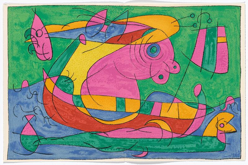 Joan Miró, 'Ubu Roi', 1966, Books and Portfolios, Livre de peintre with 13 large color lithographs by Joan Miró, Sylvan Cole Gallery