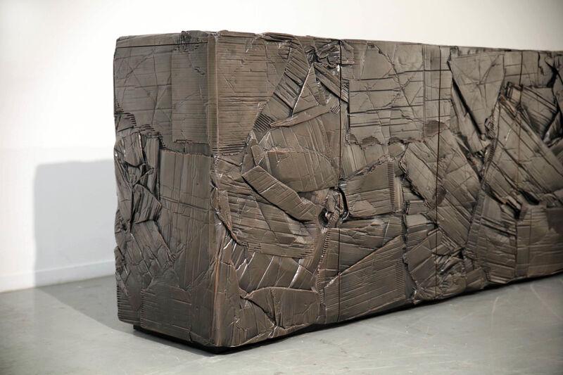 Fredrikson Stallard, 'Buffet 'Montage'', 2017, Design/Decorative Art, Electroformed copper, brown patina, interior in birch, David Gill Gallery