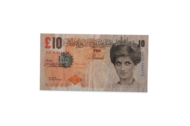 Banksy, 'Di-Faced Tenner', 2004, Print, Offset Lithograph on Paper, Chiswick Auctions
