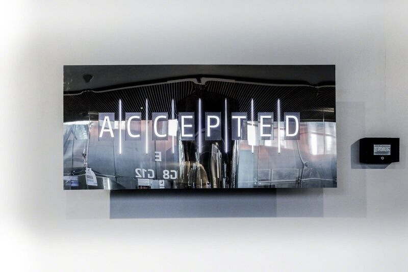 Selçuk Artut, 'Variable', 2017, Mixed Media, Interactive electronic art; utilizes machine learning algorithms with multiple computers in a network, Zilberman Gallery