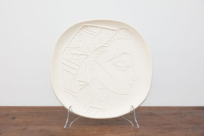 Pablo Picasso, 'Profile of Jacqueline', 22 January 1965, Other, Ceramic, BASTIAN