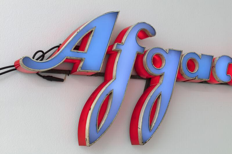Flavio Favelli, 'Afgacolor', 2019, Installation, Assemblage of signs, Francesca Minini