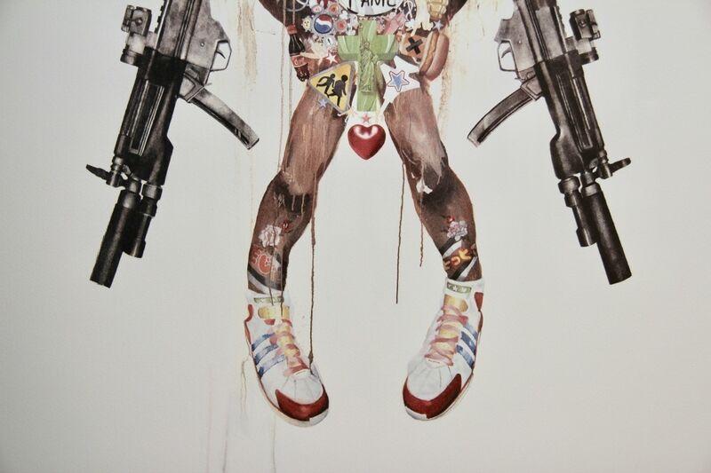 Antony Micallef, 'Improvised Minotaur', 2007, Print, Lithograph, Blackline Gallery