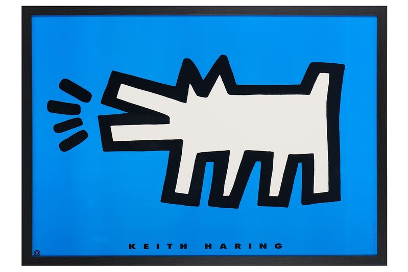 Keith Haring, 'Barking Dog', 1994, Print, Offset lithograph, Chiswick Auctions