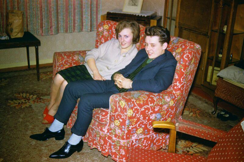Geoffrey Valentine, 'Courting Couple', 1962, Photography, Wren London
