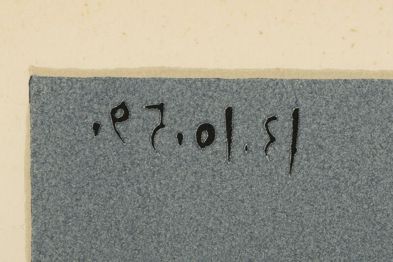 Pablo Picasso, 'The Broken Lance', 1959, Print, Linocut, Chiswick Auctions