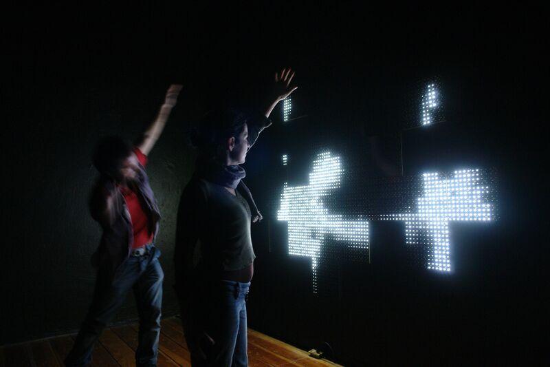 Marcela Armas, 'Homo Orbital', 2015, Installation, Infrared lamp, LED lights and modules with printed circuits, Arróniz Arte Contemporáneo