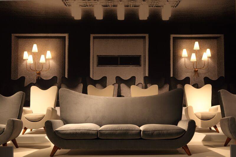 """Jean Royère, '""""Ambassador"""" armchair', ca. 1950, Design/Decorative Art, Oak and velvet, Galerie Jacques Lacoste"""