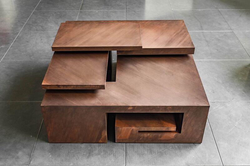 Arturo Berned, 'CAJA XLV', 2016, Sculpture, Corten steel plate 5mm thick. Oxidized finish, Leon Tovar Gallery