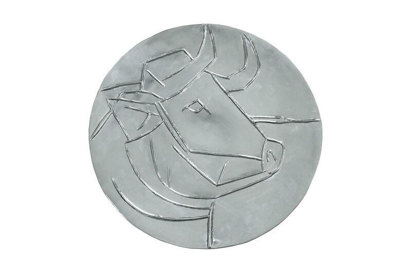Pablo Picasso, 'Tête de taureau', Post-War, Design/Decorative Art, Repoussé silver, Masterpiece Art