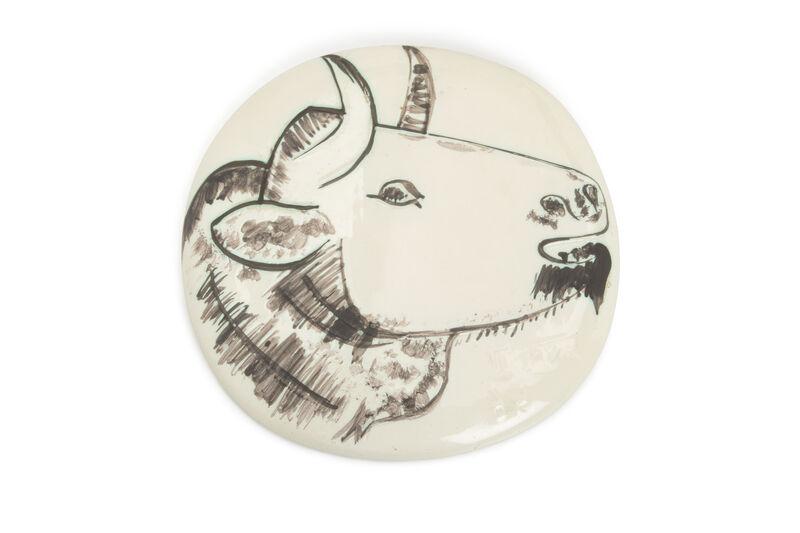 Pablo Picasso, 'Bull Profile wall plaque', Design/Decorative Art, Ceramic, John Moran Auctioneers
