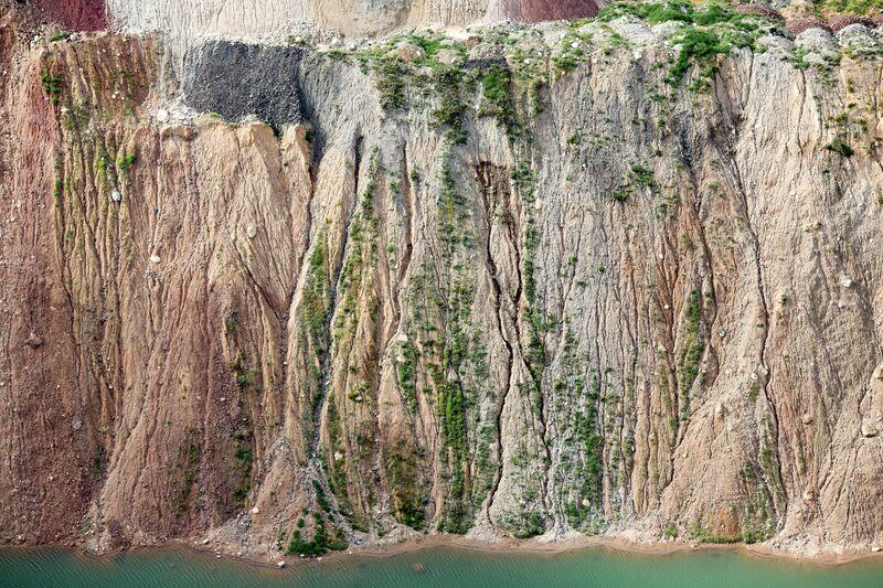 Alex Maclean, 'Cliffside Rivulets, Mountain Iron, MN, 2014', 2014, Photography, Digital C-Type, Huxley-Parlour