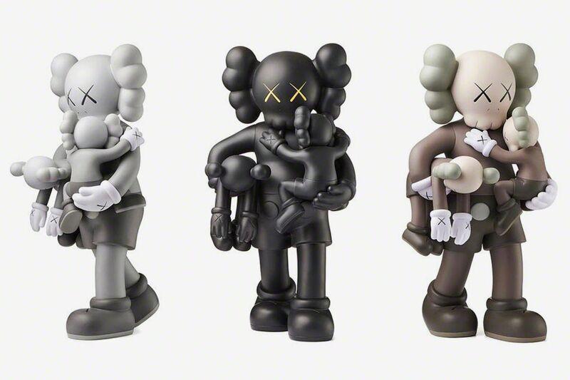 KAWS, 'CLEAN SLATE (SET OF 3)', 2018, Sculpture, Vinyl, Marcel Katz Art